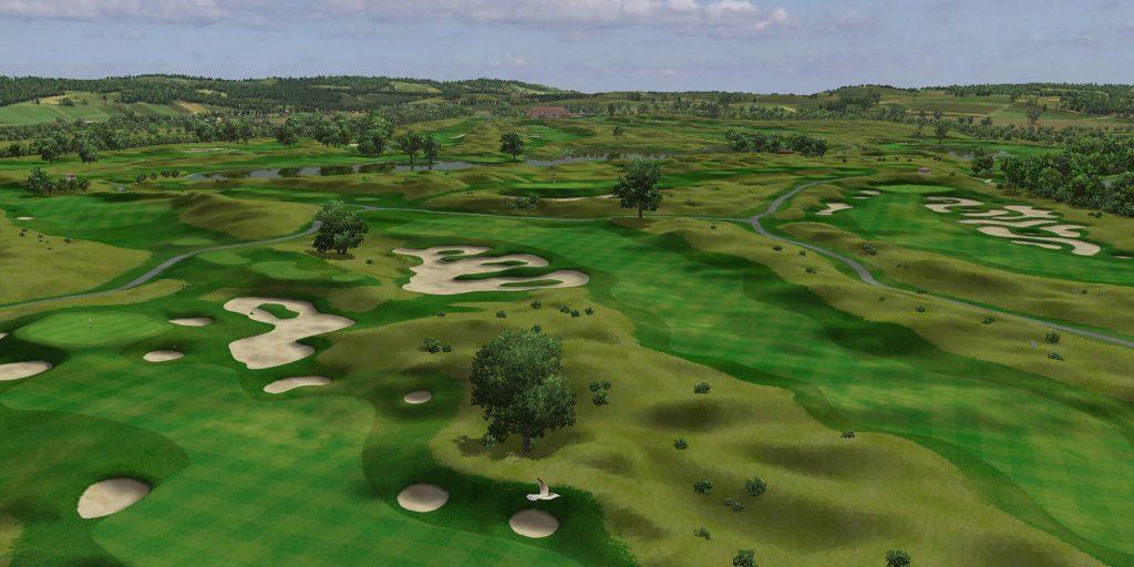 I need Golf - E6 Connect Golfplatzsimulation Vorschau Creative Golf